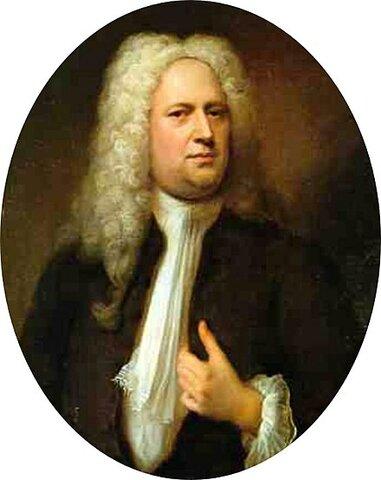 Georg Friedrich Händel. (1685-1759).