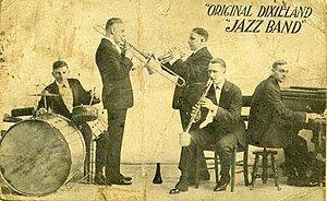 Original Dixieland Jass Band.