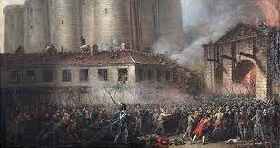 The storming of the bastile