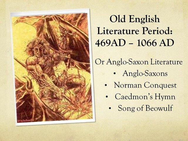 Old English 450-1066