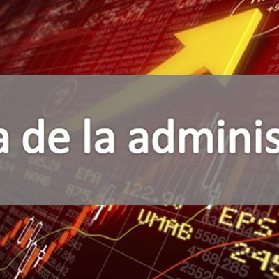 Historia De La Administración. timeline