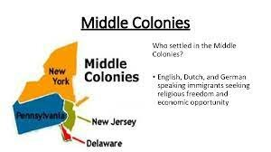 middle colony