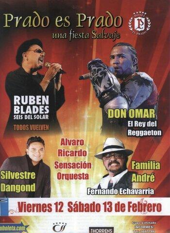 """Concierto """"Fiesta Salvaje"""", Carnaval de Barranquilla."""