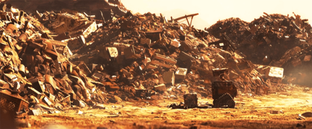 El mundo bajo los escombros