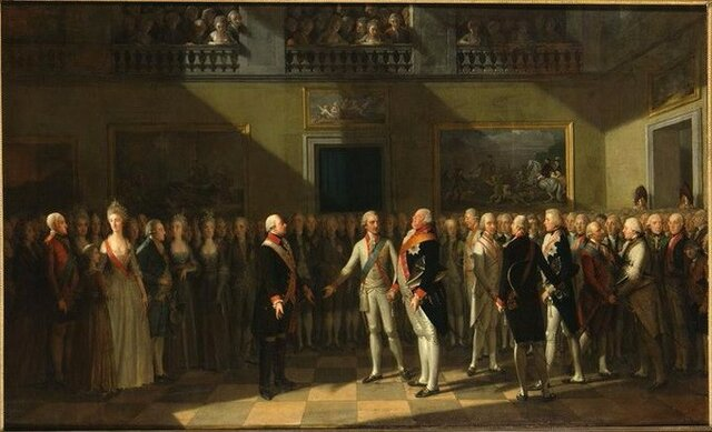 constitutional monarchy formed