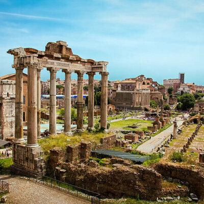 Eix cronologic de la entiga Roma  timeline