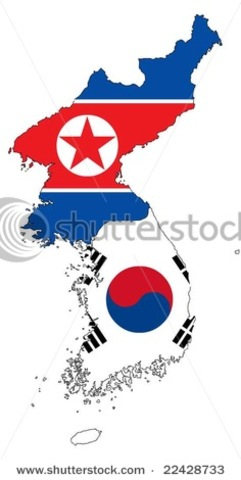 Separation of North and South Korea