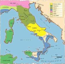 Roma controlava tota la península Itàlica