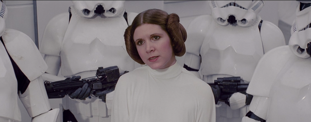 Princess Leia Gets Captured By The Storm Troopers