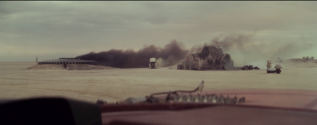 The Sand People Destroy Luke and his Uncle and Aunt's house