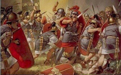 La derrota cartaginesa