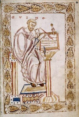 Guido d'Arezzo: 991 CE-1033 CE