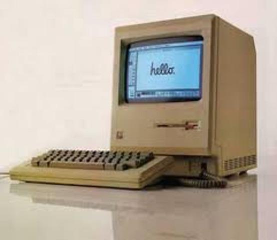 La compañía de Jobs lanza el Macintosh 128K