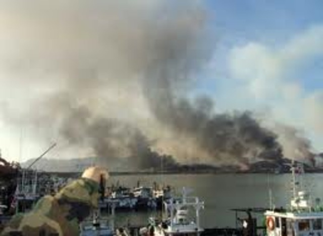 Over 200 Artillery Shells Shot onto South Korean Island!