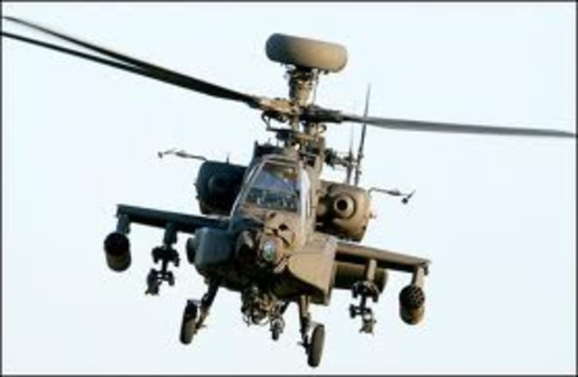 Attack Helicopter Deployed