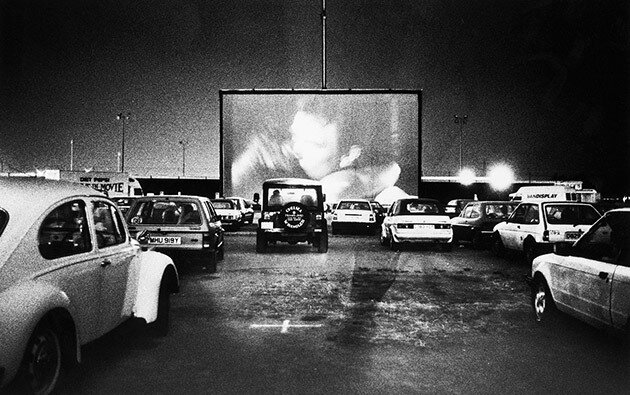The First drive-in movie theater opens