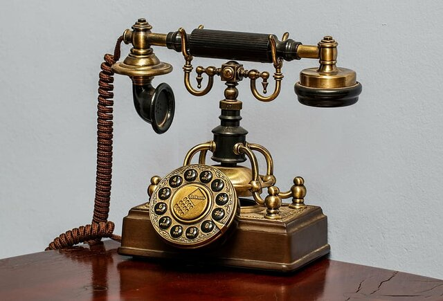 The very first telephones