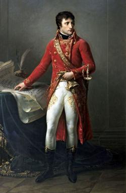 NOMBRAMIENTO COMO EMPERADOR DE FRANCIA