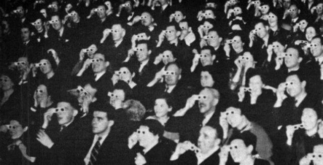 First 3D film