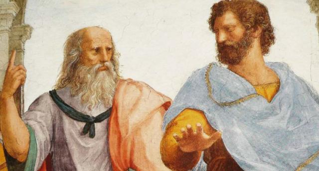 Con Platón y Aristóteles