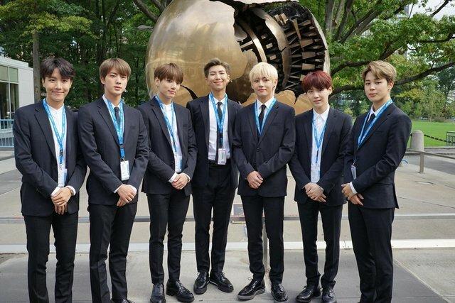 BTS asiste a la ONU