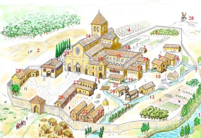 Primer monasterio románico