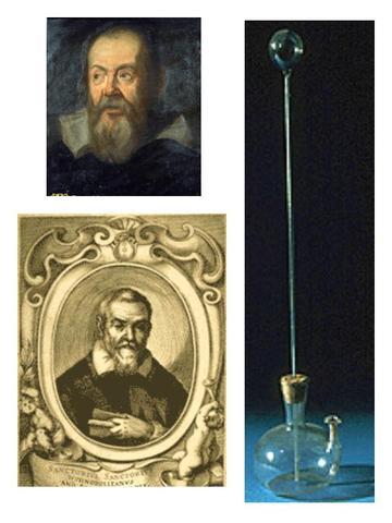 Inventa el termòmetre de gas.
