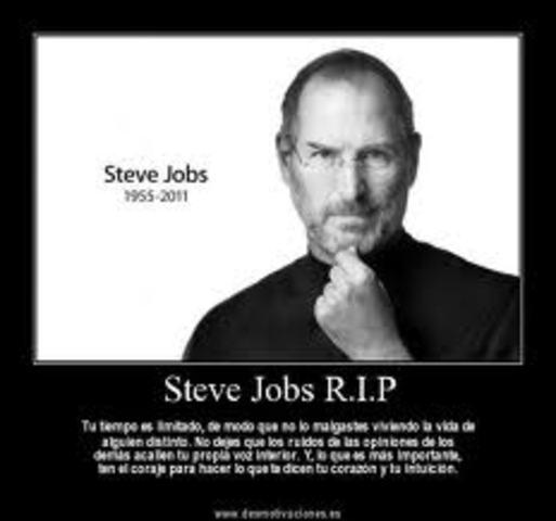 Steve Jobs Muere