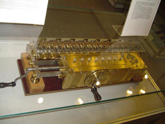 Stepped Reckoner o máquina de Leibniz