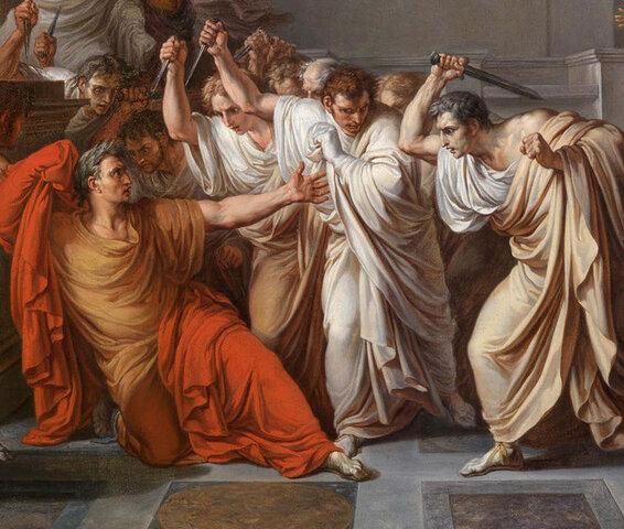 Assassinat conta Juli Cèsar