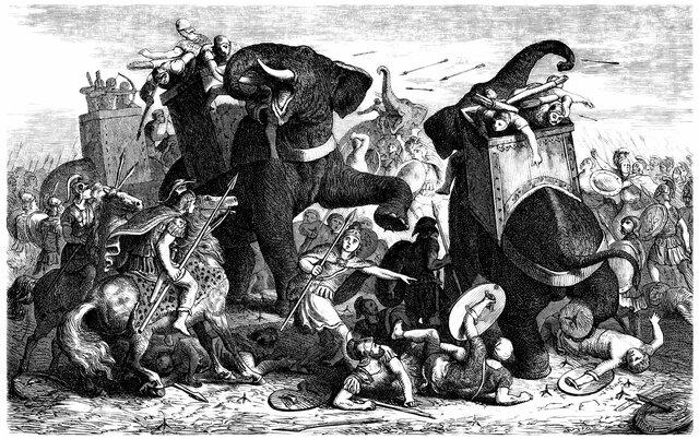 Roma s'enfronta a Cartago