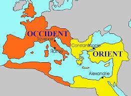 Mort de Teodos l'imperi es divideix