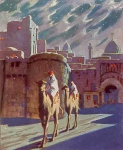 Ibn Fadlan seeks alliance with Bulgars