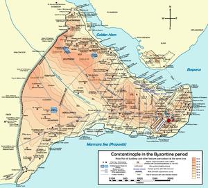 nova capital de l'imperi (330 dC)