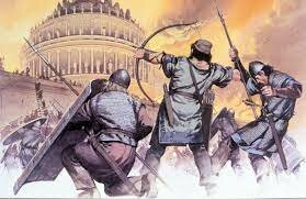 començant a envair l'imperi romà occidental