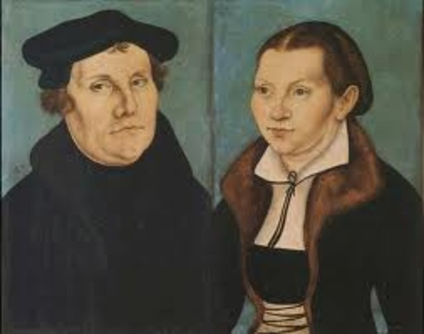 Martin Luther Gets Married
