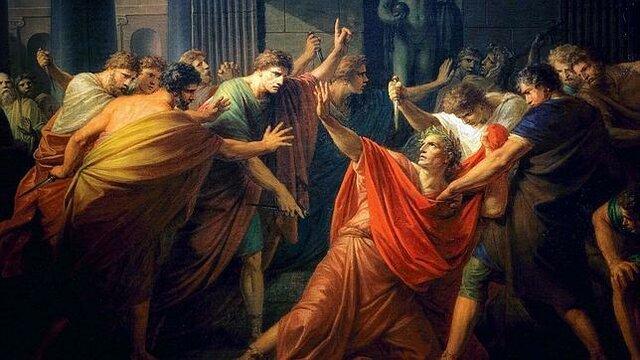 Juli César és assassinat