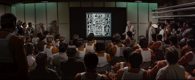 They Land on A Planet Named Yavin, and Make Plans to Destroy the Death Star
