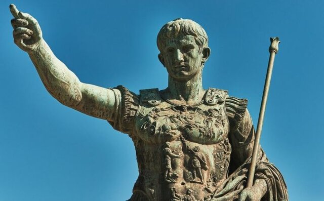 August Octavi es proclamat emperador