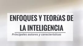 Enfoques y teorías de la inteligencia timeline