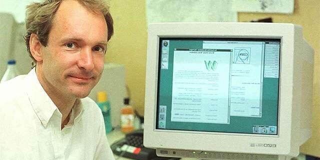 Creacion de la WWW (World Wide Web) por Tim Berners-Lee