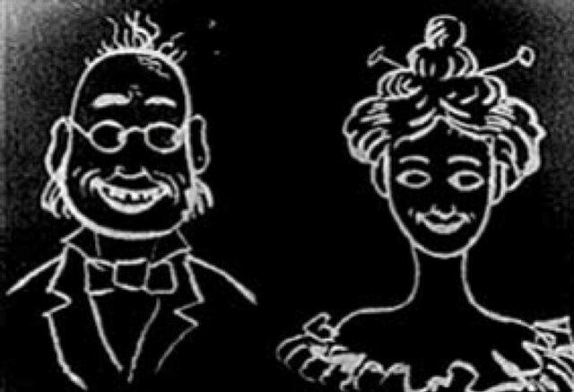 First animated cartoon