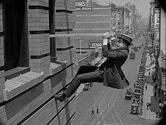 First movie stunt