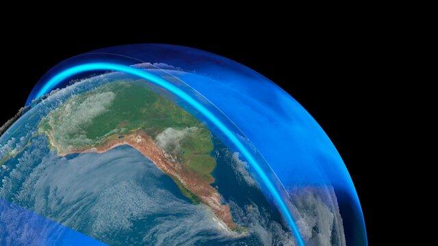 Investigación; daños a la capa de ozono.
