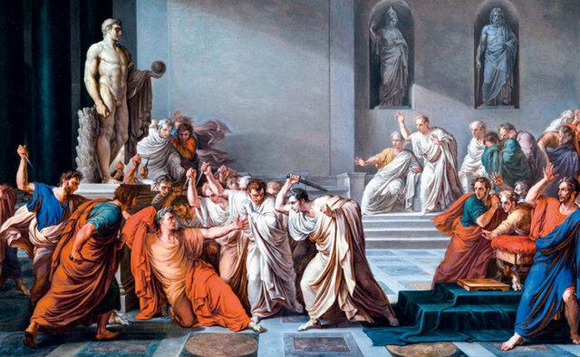 Juli cèsar es Assasinat