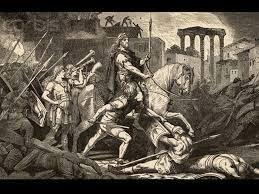 Els Ostrogots saquejan Roma