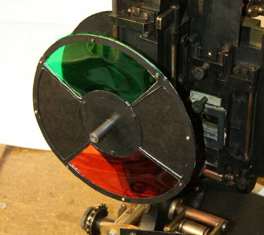 The first time color was incorporated into the cinema.