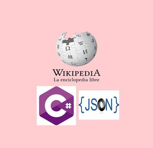 Wikipedia, C#, JSON