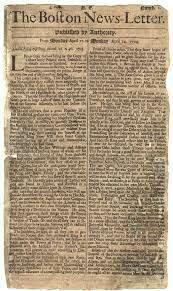 Primer Periódico Estadounidense