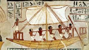 Barcos de madera.